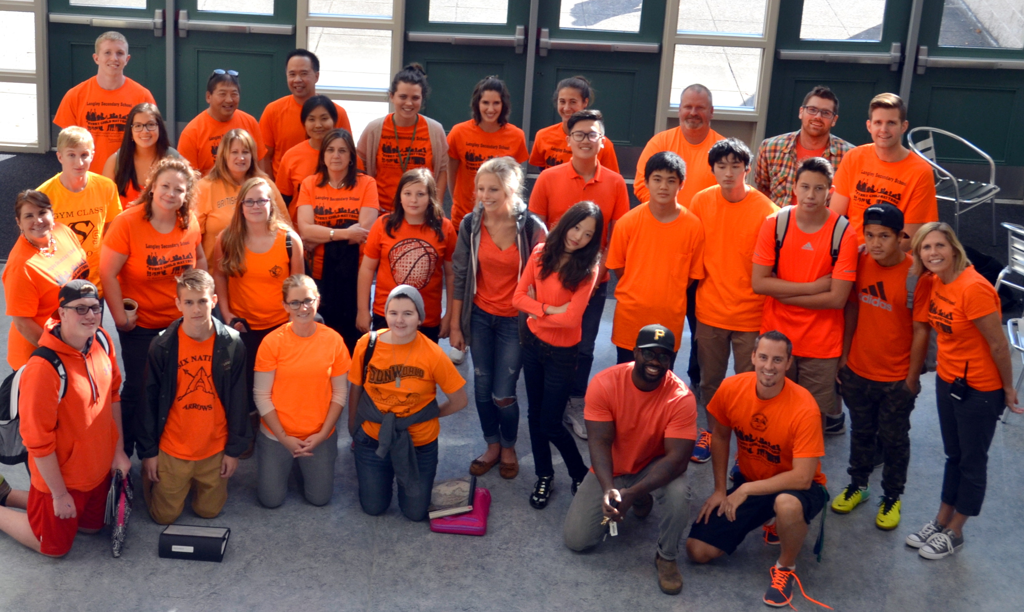 Home Insurance Bc >> Orange Shirt Day in Langley Schools 2016